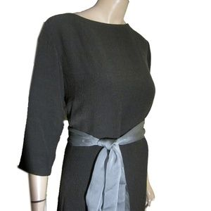 New Textured Wool Blend Maxi Dress PLUS by Finity